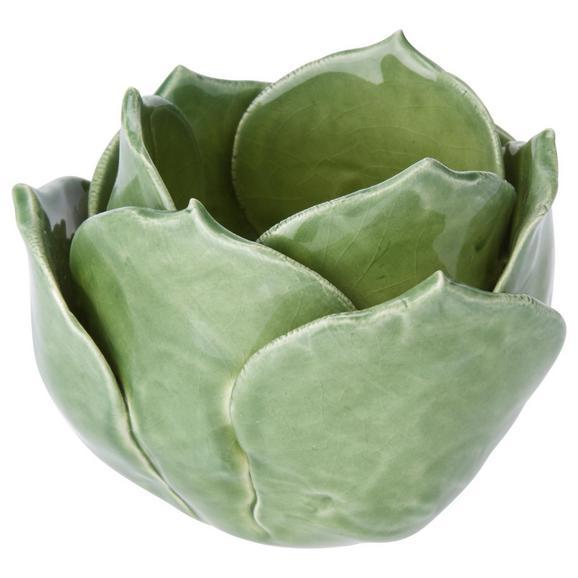 Držalo Za Čajno Svečko Sophia - zelena, keramika (8/7,2cm) - Mömax modern living