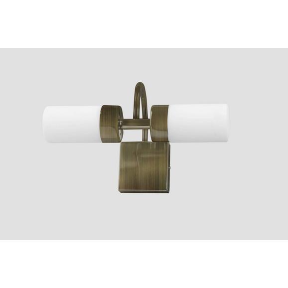 Fürdőszobai Fali Lámpa Betty 5746 - Bronz, Üveg/Fém (11/16/10cm)