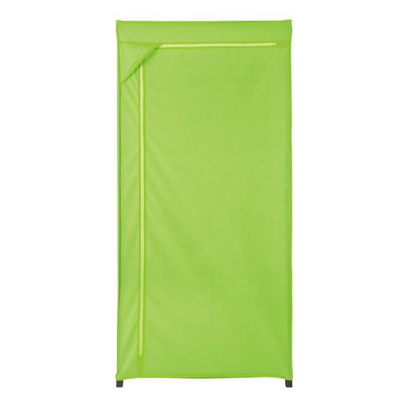 Szövet Ruhásszekrény Speed        -sb- - Zöld, konvencionális, Fém/Textil (75/160/50cm) - Mömax modern living