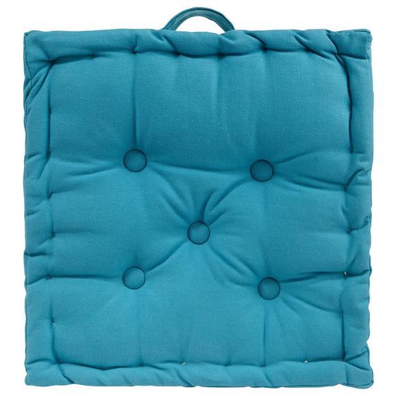 Blazina Ninix - petrolej, tekstil (40/40/10cm) - Mömax modern living