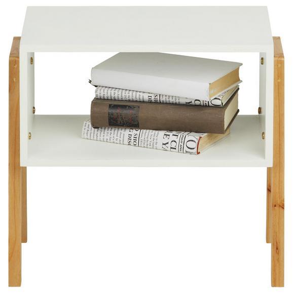 Regal aus Kiefer, 3er Set - Naturfarben/Weiß, MODERN, Holz/Holzwerkstoff (44/80/26cm) - Modern Living