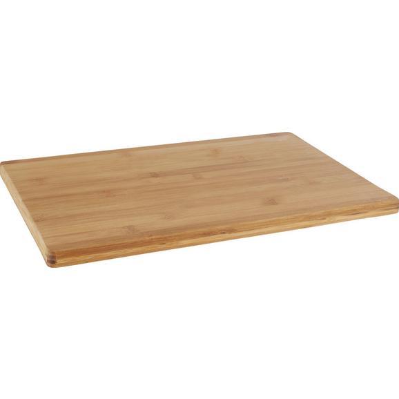 Deska Za Rezanje Bamboo - naravna, les (40/30/1,7cm) - Zandiara