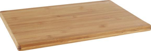 Schneidebrett Bamboo in Natur aus Echtholz - Naturfarben, Holz (40/30/1,7cm) - Mömax modern living