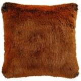 Fellkissen Romina ca.45x45cm - Braun, MODERN, Textil (45/45cm) - Mömax modern living