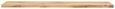 Stenska Polica Bigg -sb- - hrast, les (80/1,8/25cm)