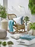 Sedežna Blazina Aline - siva, tekstil (55/35cm) - Premium Living