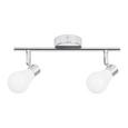 Proiector Bahar - argintiu/alb, Romantik / Landhaus, plastic/metal (29cm) - Modern Living