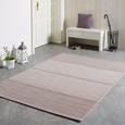 Flachwebeteppich Kate in Flieder ca. 160x230cm - Flieder/Weiß, MODERN, Textil (160/230cm) - Modern Living