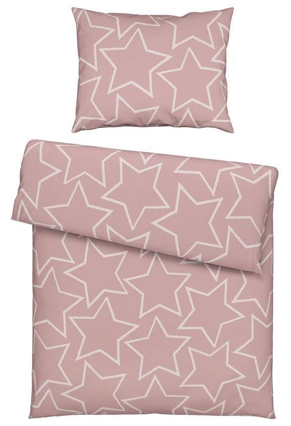 Posteljnina Xena - roza/turkizna, tekstil (140/200cm) - Mömax modern living