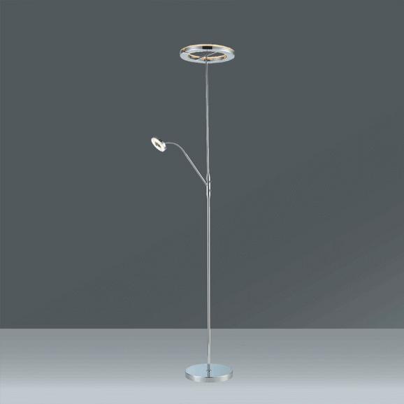 LED-Stehleuchte Piet, Max. 26 Watt - KONVENTIONELL, Kunststoff/Metall (30/180cm) - Mömax modern living