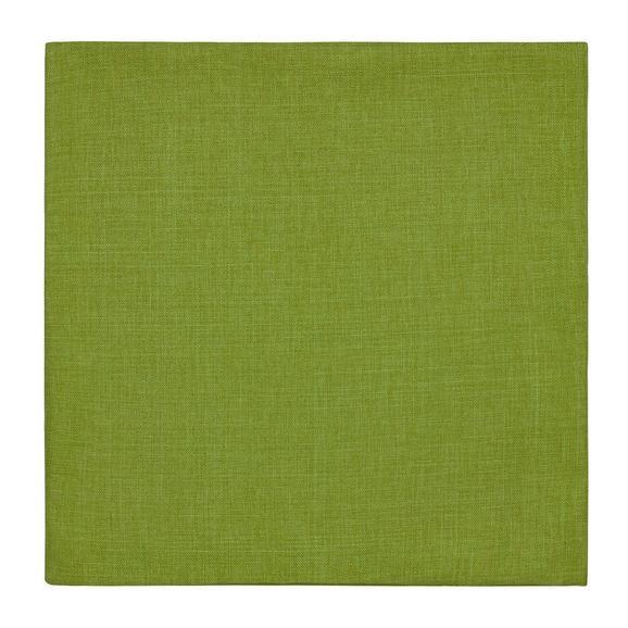 Kissenhülle Leinenoptik, ca. 50x50cm - Grün, KONVENTIONELL, Textil (50/50cm) - Mömax modern living
