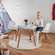 Gyerekfotel Child - Fehér, modern, Textil (39/57/40cm) - Zandiara