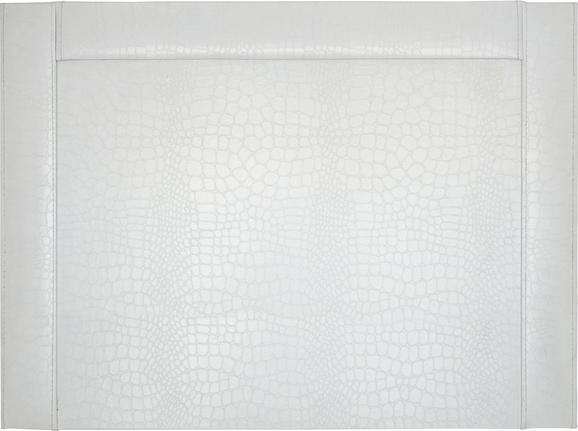 Schreibunterlage Magnolia in Weiß - Weiß, LIFESTYLE, Karton (52/0,8/38cm) - Mömax modern living