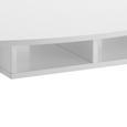 Couchtisch Silvio mit Ablagefächer - Weiß/Pinienfarben, MODERN, Holz/Holzwerkstoff (100/50/42,5cm) - Modern Living