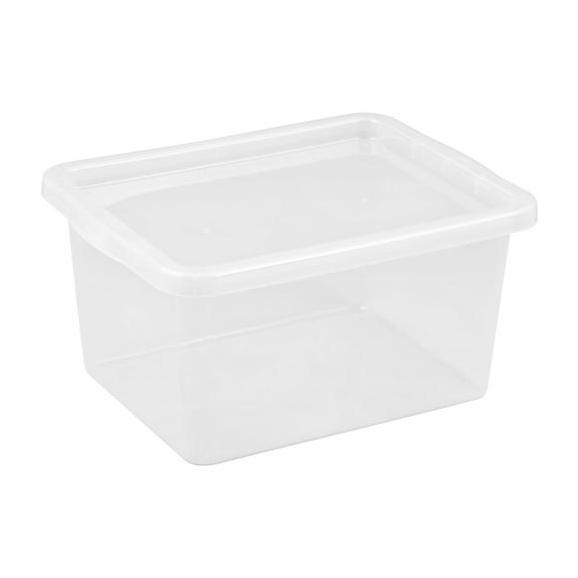 Box mit Deckel Harris Transparent - Transparent, Kunststoff (59,5/39,5/31,0cm)