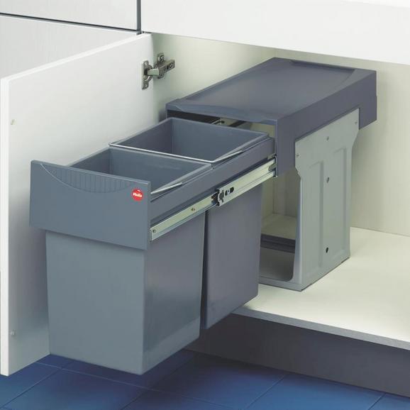 Einbauabfallsammler 740100 - Grau (25,5/40/48cm)