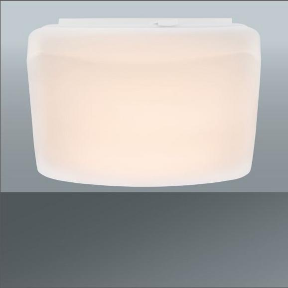 LED-Deckenleuchte Georg, max. 12 Watt - Kunststoff/Metall (27/27/10,5cm)