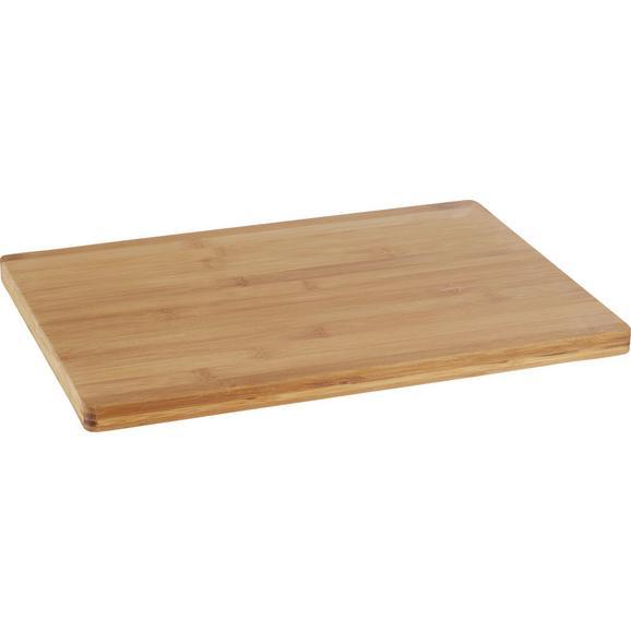 Deska Za Rezanje Bamboo - naravna, les (35/25/1,7cm) - Zandiara