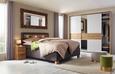 Nachtkästchen Eichefarben - Eichefarben/Alufarben, MODERN, Holzwerkstoff/Kunststoff (41/54/41cm) - Premium Living