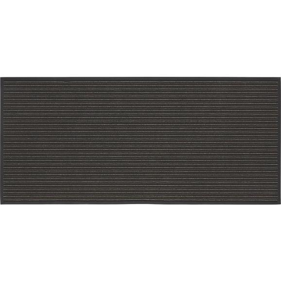 Läufer Tango Grau, ca. 90x200cm - Grau, KONVENTIONELL, Textil (90/200cm) - Mömax modern living
