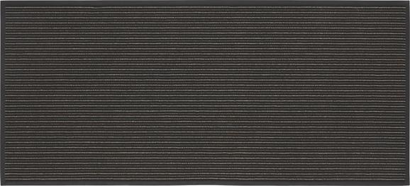 Läufer Tango in Grau, ca. 90x200cm - Grau, KONVENTIONELL, Textil (90/200cm) - MÖMAX modern living