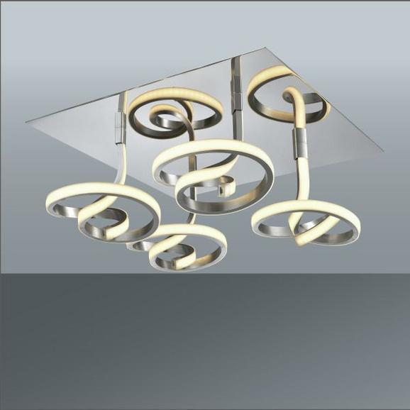 Stropna Led-svetilka Giorgia - Moderno, kovina/umetna masa (40/40/21cm) - Mömax modern living