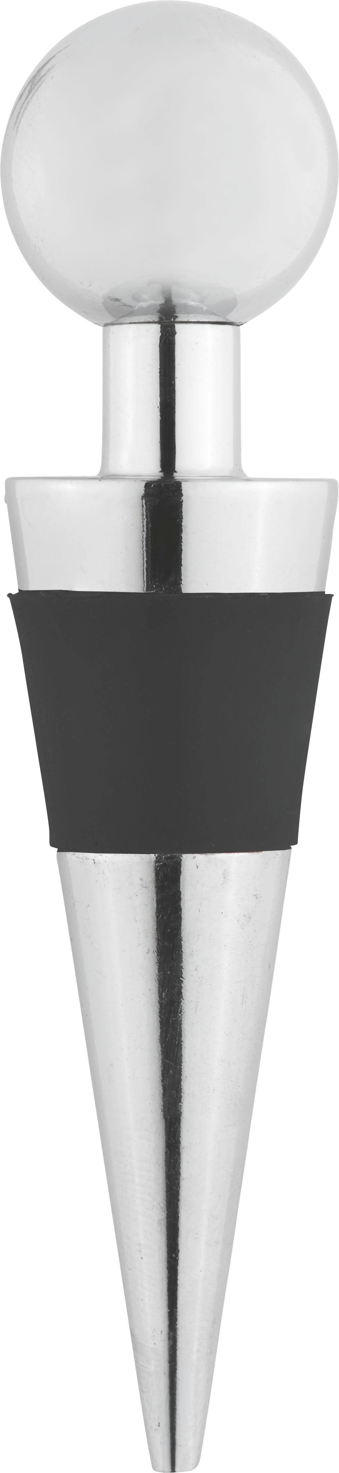 Flaschenverschluss Sibile - Silberfarben, Metall (0.8kg) - MÖMAX modern living