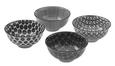 Skleda Shiva - črna/bela, Trendi, keramika (11,5/5,8cm) - Mömax modern living