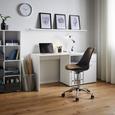 Schreibtisch Basic ca.150x83cm - Weiß, MODERN, Holz/Metall (117/150/51/83/74cm) - Modern Living