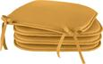 STUHLKISSEN KLAUS, ca. 38x38x2cm - Beere/Anthrazit, Textil (38/38/2cm) - Mömax modern living