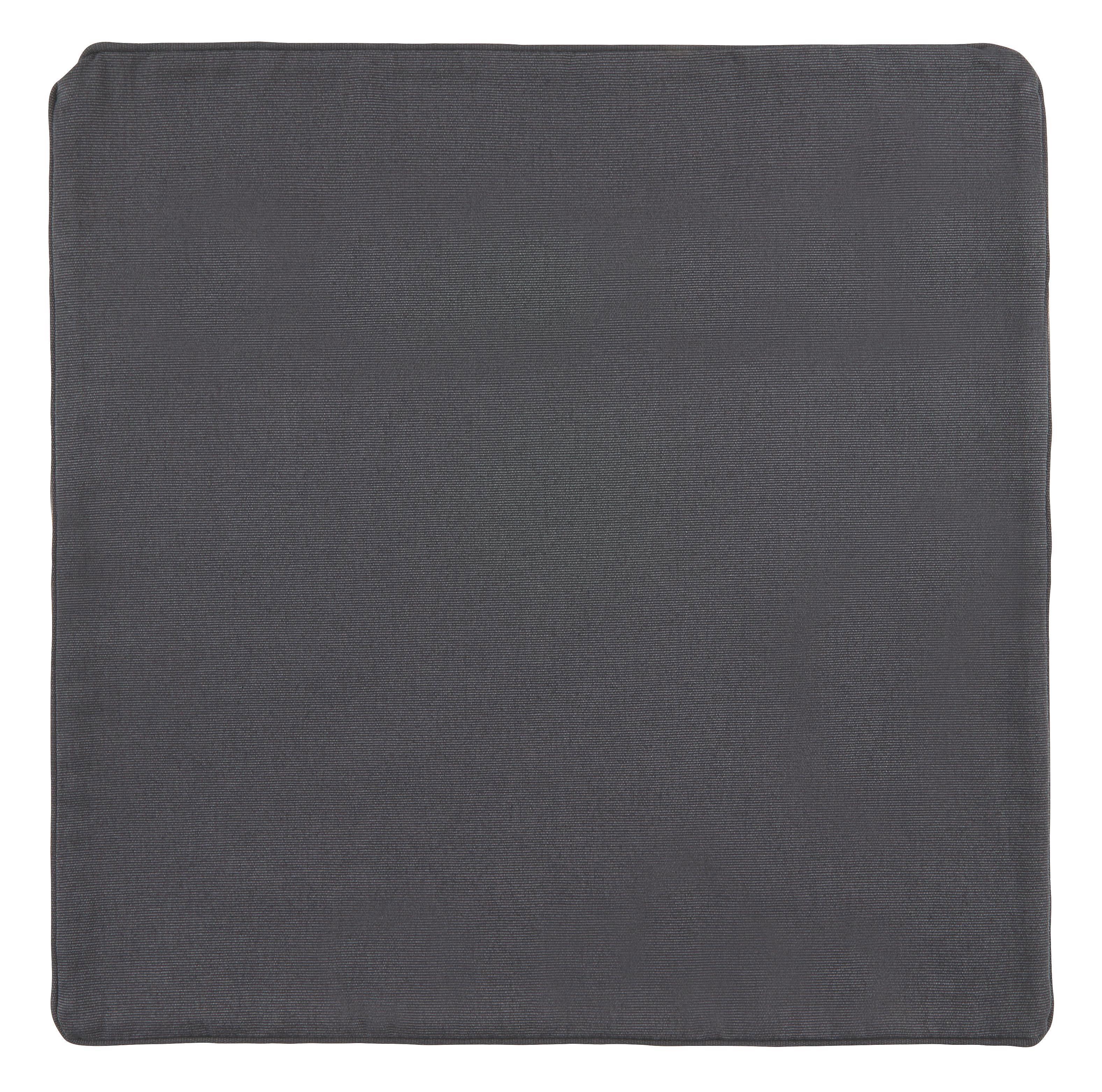 Párnahuzat Steffi - antracit, textil (50/50cm) - MÖMAX modern living