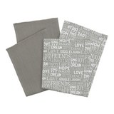 Set Kuhinjskih Krp Friends - siva, tekstil (50/70cm) - Mömax modern living