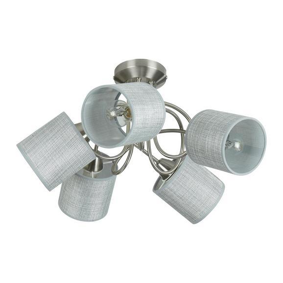 Stropna Svetilka Paco - siva, Moderno, kovina/umetna masa (46/27,5cm)