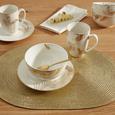 Skodelica Za Kosmiče Golden Couple - zlata/bela, Trendi, keramika (14/7cm) - Mömax modern living