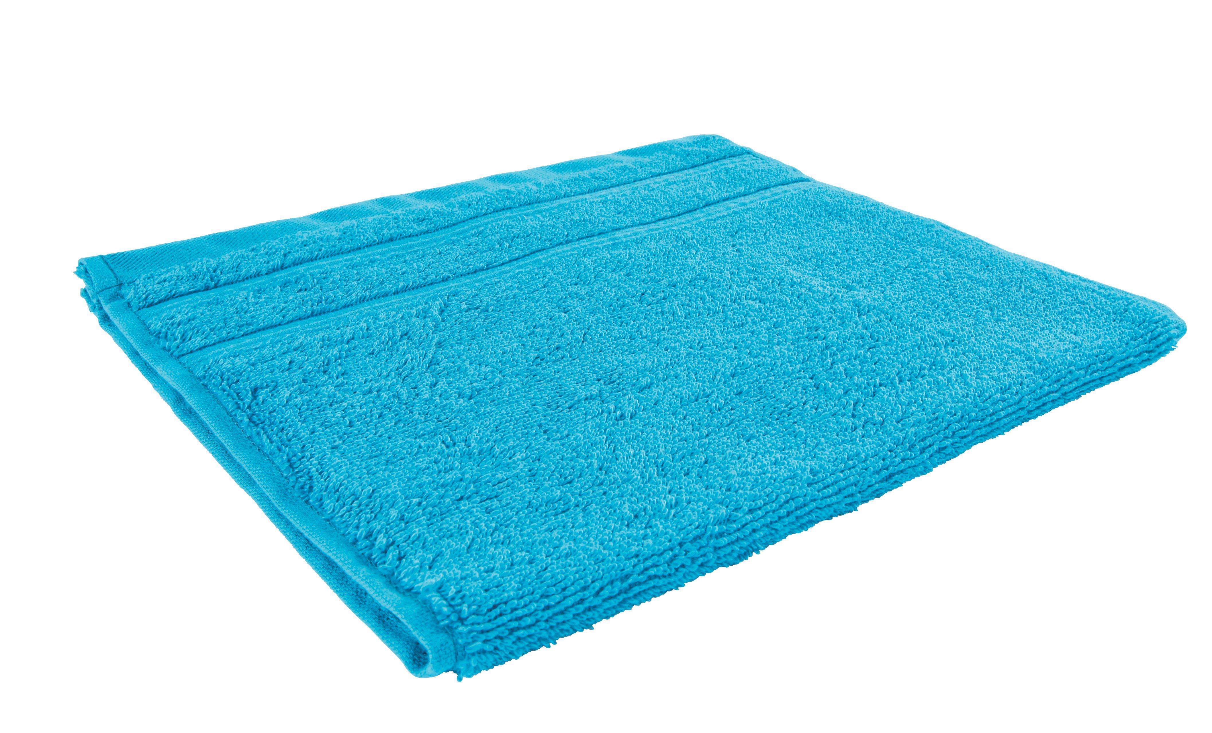 Gästetuch Melanie in Aqua - Blau, Textil (30/50cm) - MÖMAX modern living