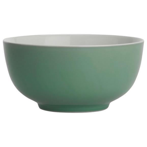 Skodelica Za Kosmiče Sandy - meta zelena, Konvencionalno, keramika (13,7/6,6cm) - Mömax modern living