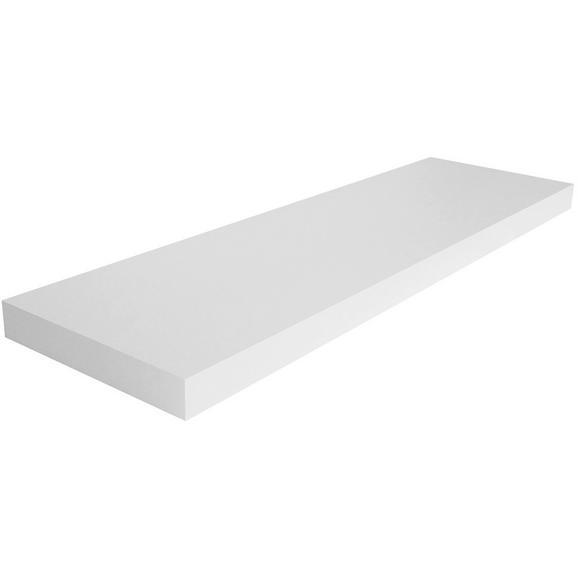 Raft De Perete Giga - alb, Modern, compozit lemnos (80/3,8/23,50cm)