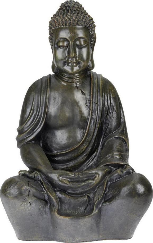 Buddha Manga In Rostbraun - Braun, LIFESTYLE, Kunststoff (44/34/68cm) - Mömax modern living