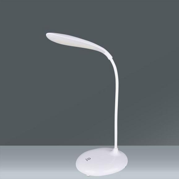 Namizna Led-svetilka Suzi - bela, umetna masa (12,5/33cm) - Mömax modern living