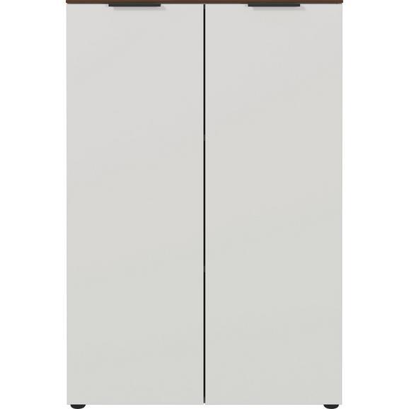 Aktenregal in Kaschmir/Nussbaumfarben - Kaschmir/Nussbaumfarben, KONVENTIONELL, Holzwerkstoff/Kunststoff (81/120/40cm) - Mömax modern living