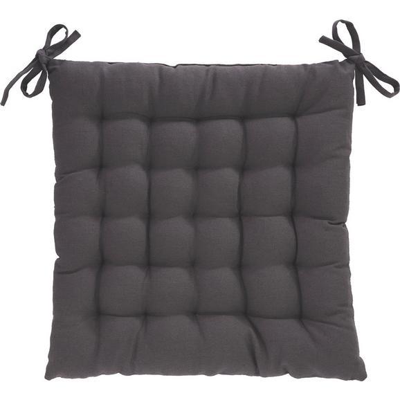 Sedežna Blazina Anke - antracit, tekstil (40/40cm) - Mömax modern living