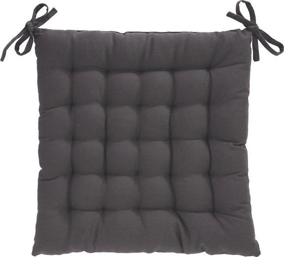 Ülőpárna Anke - Antracit, Textil (40/40cm) - MÖMAX modern living