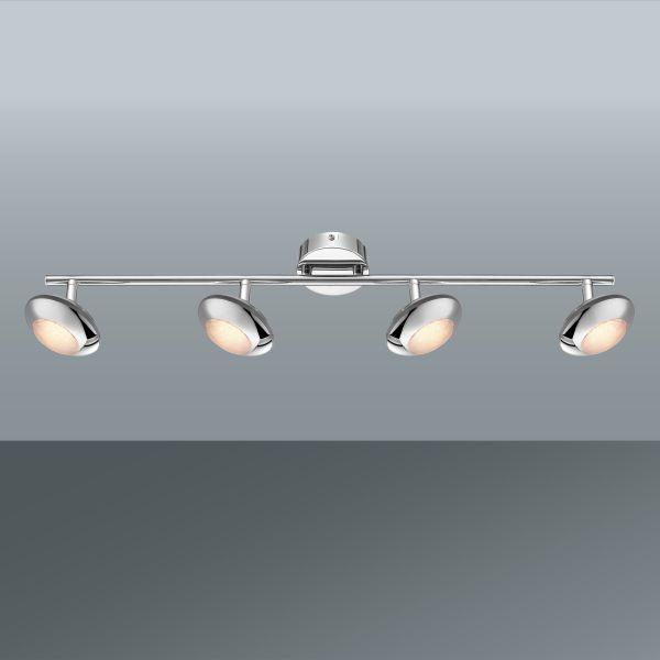 Strahler Gilles, max. 4x5 Watt - MODERN, Kunststoff/Metall (66/10/14cm) - INSIDO