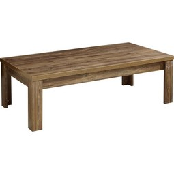 Couchtisch in Akazienfarben - Akaziefarben, MODERN, Holzwerkstoff (130/40/65cm) - Premium Living