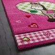 Covor Pentru Copii Pony - roz aprins, textil (120/170cm) - Modern Living