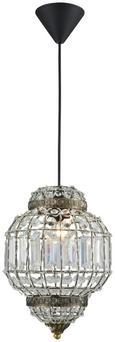 Viseča Svetilka Adele - Trendi, kovina/steklo (23/185cm) - Mömax modern living
