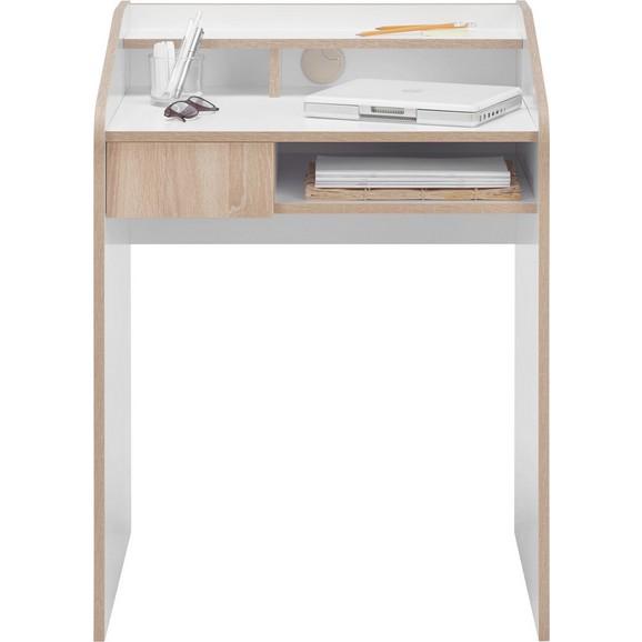 Schreibtisch in wei aus holz online kaufen m max for Schreibtisch 90
