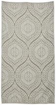 Strandtuch Paisley 90x180 cm - Hellgrau/Weiß, Textil (90/180cm) - Mömax modern living