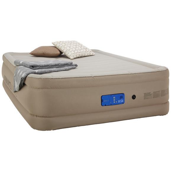 Luftbett in Beige ca. 203x152x51cm - Beige, MODERN, Kunststoff (203/152/51cm) - Premium Living