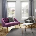 Schaukelstuhl Sophie - Grau, MODERN, Holz/Textil (74/87/91,5cm) - Mömax modern living